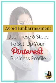 Pinterest for Business by Pinterest Marketing Expert |  I have said this several times before, you may have the greatest images or products but if no one can find you on Pinterest then you'll have to work even harder to make sales. Here's a proven 6 step blueprint to help you build an optimized Pinterest profile for your business. Learn more at http://www.whiteglovesocialmedia.com/pinterest-consultant-avoid-embarrassment-use-these-6-steps-to-set-up-your-pinterest-business-profile/#.Ui6QQRZI0...