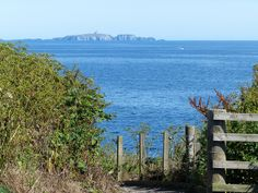 The Isle of May from the Fife Coastal Path at Pittenweem www.2crail.com