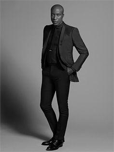 oswald boateng...premier British menwear (bespoke) designer.....
