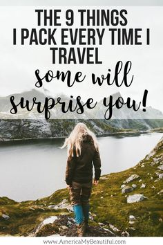 I wont travel without these 9 things, and I bet some of them would surprise you! Travel Dress, Solo Travel, Us Travel, Travel Style, India Travel, Travel Advice, Travel Guides, Travel Tips, Travel Destinations