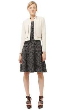 Cropped Double Layer Jacket Rebecca Taylor