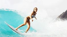 Bruna Schmitz. Ramp. via roxy - SURPHILE (indie surf)