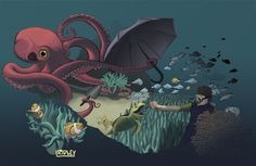 LOVE!!!!!!!!---Octopus Garden by RidleyLitton