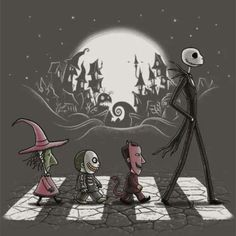 Twas The Nightmare Before Christmas...