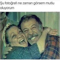 ✿ ❤ Yeşilçam'ın tatlı çifti Adile Naşit & Münir Özkul :))