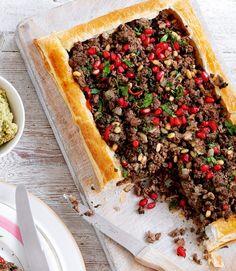 Spicy-Lebanese-lamb-tart