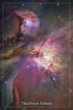 The Hubble Space Telescope - Orion Nebula Credit: NASA,ESA, M. Robberto (Space Telescope Science Institute/ESA) and the Hubble Space Telescope Orion Treasury Project Team Cosmos, Hubble Space Telescope, Space And Astronomy, Telescope Images, Nasa Space, Galaxy Space, Fotos Do Hubble, Digital Foto, Photo Print