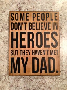 Wood Sign Gift Some people don't believe in by aubreyheath, $22.00