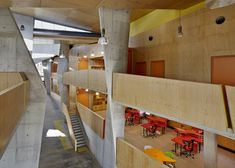 Gallery of Abedian School of Architecture / CRAB Studio - 2 arquitectura-dise. Colour Architecture, Beautiful Architecture, Architecture Details, University Architecture, School Architecture, Villa, Architectural Section, School Building, California Homes