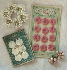 Button Cards by fancylinda, via Flickr