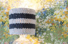 Regardless of the lampstand, the crochet lampshade Paimpol adds a trendy vintage flair to any room.