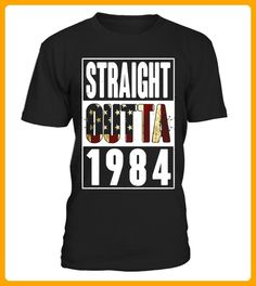 89a8dd8a2e86 33th Birthday Straight outta 1984 T Shirt - Limited Edition
