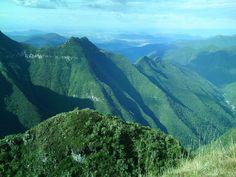 na divisa entre Santa Catarina e Rio Grande do Sul, perto de São José dos Ausentes.