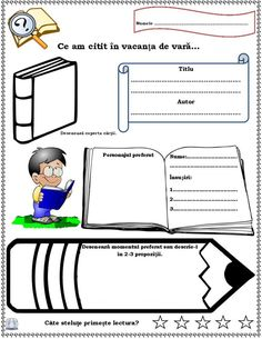 Fișă de lectură Teaching Grammar, Teacher Supplies, Alphabet Activities, Math For Kids, Writing Skills, After School, Classroom Management, Vocabulary, Homeschool
