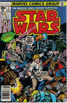Star Wars 2 September 1977 Issue  Marvel Comics  by ViewObscura