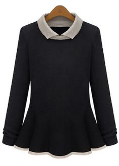 Charming Long Sleeve Turndown Collar Woman Pullovers for Autumn on sale only US$13.54 now, buy cheap Charming Long Sleeve Turndown Collar Woman Pullovers for Autumn at martofchina.com