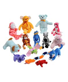 Look at this Plush Animal Toy Set on #zulily today!