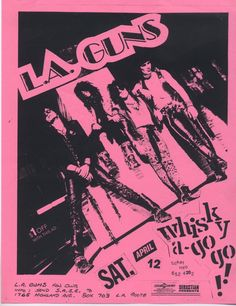 LA Guns #80sGlamRock