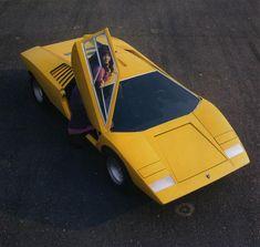 Lamborghini LP500 concept car (1971) designed by Marcello Gandini of Bertone, a precursor to the Countach