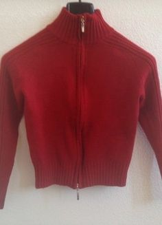 À vendre sur #vintedfrance ! http://www.vinted.fr/mode-femmes/cardigans/38194677-gilet-rougebordeaux-trapeze-taille-2