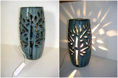 Luminária de cerâmica- Tree