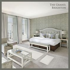 This May, our Hotel of the Month is The Grand Hotel, Brighton!  We are currently transforming Brighton's most iconic hotel with a multi-million pound investment which is scheduled to be completed by late Summer 2013. The refurbishment programme, which is well under-way, combines modern touches with traditionally elegant features, further enhancing the old-school glamour and opulence of the legendary De Vere Grand Hotel.  http://www.devere-hotels.co.uk/hotel-lodges/locations/the-grand