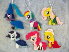 My Little Pony Ornaments I think that's the Hearth's worming eve pony but i don't know