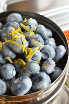 Healthy School Lunch Ideas - The kids will love this fun and flavorful lunch. But don't worry Moms; it is quick and easy too! This Lemon Blueberry Salad will be a hit! ad #LovableLunch