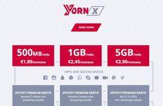 Yorn X 5GB encontra-se disponível para maiores de 25 anos