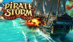 Pirate Storm: Death or Glory é um MMORPG 3D gratuito passado no tempo dos piratas. O jogo envolve lutar através de batalhas PvP e PvE contra monstros e jogadores reais. Navegue traiçoeiras passagens marítimas, passado por aventureiros do alto-mar, monstros marinhos e piratas perigosos em busca de lendários tesouros! Glória e inúmeras riquezas esperam por si!