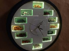 Hot wheels clock