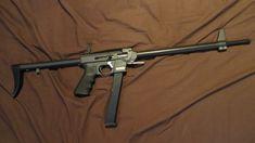 Homemade Gun: 9mm Folding Pack Rifle