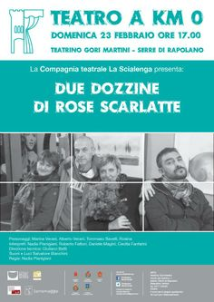 Have you already booked for the show of 23 febrary in Serre Rapolano for Theatre at 0 Km? Hurry up! Information +39 0577 705055