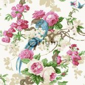 Home - Behangstore Decoupage, Floral Wreath, Wreaths, Bird, Make It Yourself, Painting, Animals, William Morris, Home Decor