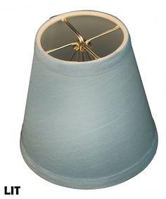 Burlap Royal Designs CS-955-6BL Hardback Empireburlap Chandelier Lamp Shade