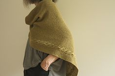 Ravelry: Sideways Bias Triangle Shawl pattern by Leslie Weber