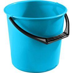 Bøtte NORDISKA PLAST 10 L turkis | Staples® Plast, Bucket, Pug, Buckets, Aquarius