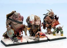 ogres Warhammer Ogre, Figurines Warhammer, Warhammer Fantasy, Fantasy Battle, Fantasy Races, Fantasy Figures, Mini Games, Figs, Geek