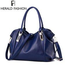 c378000eb9a Herald Fashion Designer Women Handbag Female PU Leather Bags Handbags Ladies  Portable Shoulder Bag Office Ladies