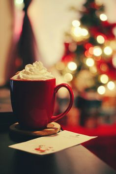 Hot Cocoa Around The Christmas Tree! #PinMyGifts2014