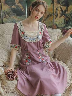 1940s Fashion, Victorian Fashion, Vintage Fashion, Gothic Fashion, Fashion Fashion, Modest Outfits, Classy Outfits, Girl Outfits, Vintage Outfits