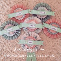 Our hen rosette badges - £4.75 each #henparty #henpartyaccessories #classyhenparty #henpartybadges