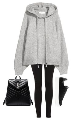 """Untitled #918"" by petitaprenent on Polyvore featuring Topshop, adidas Originals and Yves Saint Laurent"