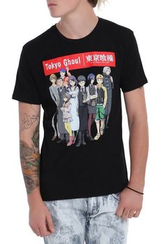 New official Tokyo Ghoul t-shirt from Hot Topic! http://bradgeek.tumblr.com/post/127365109158/new-official-tokyo-ghoul-t-shirt-from-hot-topic