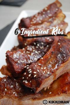 Sticky ribs are a sure sign that summer is coming. Mix Kikkoman®️ Soy Sauce with  cola, ketchup, molasses and creole seasoning for a yummy marinade. Marinate a slab of ribs, fire up the grill, call up some friends and family, and throw a little backyard barbecue party! Check out KikkomanUSA.com for great side dish recipes and other grilling season favorites.   Kikkoman®️ 'n Cola BBQ Ribs recipe
