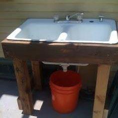 Recycle garden clean up water