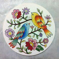 Pişmeden önce  by Hale Ogsuz (before glazing) Facebook sayfamı ziyaret etmeyi ve beğenmeyi unutmayın  Please visit and like my page: https://www.facebook.com/HaleOgsuz.Art/ ******************** #çini #nihale #tahrir #china #faience #majolica #tile #chinaware #tinglazedpottery #ceramics #porcelain #glazedtile #glazing #tilepainting #coloring #painting #drawing #art