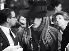 photo la-modella-mafia-fashion-style-icons-Brigitte-Bardot-and-Kate-Moss-smoking_zpsf43a580f.jpg. Stylin hat.