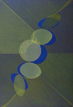 Movimiento del círculo, 1974 - Serigrafía