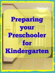 Great list of tips and activities by category on preparing your preschool for kindergarten - fun creative ideas to do over the summer with your kids Kindergarten Readiness, School Readiness, Preschool Kindergarten, Preschool Learning, Teaching Kids, Toddler Learning, Parent Resources, Summer School, Summer Fun